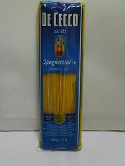 画像1: ディチェコ スパゲッティーニ No.11 スパゲティ 約1.6mm 500g
